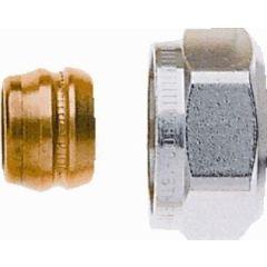 Aansluitkoppeling 15 mm CV buis ( 1 set = 2 st.)